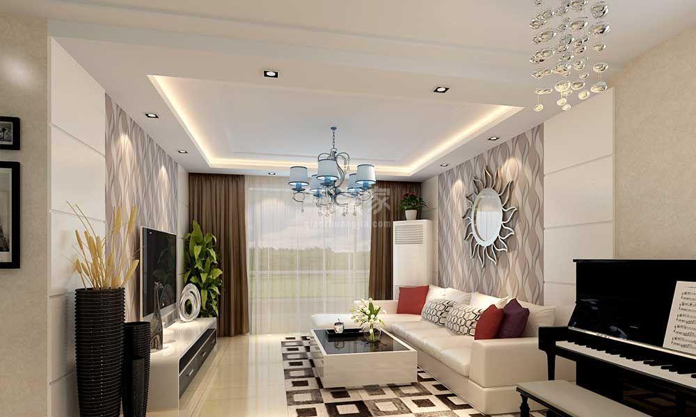 意华田园都市140平欧式风格设计方案