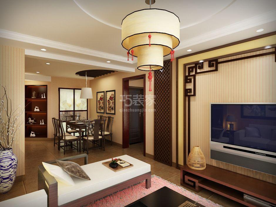 上海建筑87P中式风格设计方案
