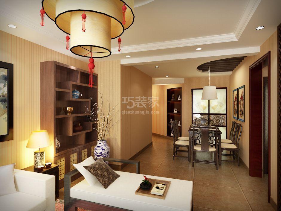 -上海建筑87P中式风格设计方案