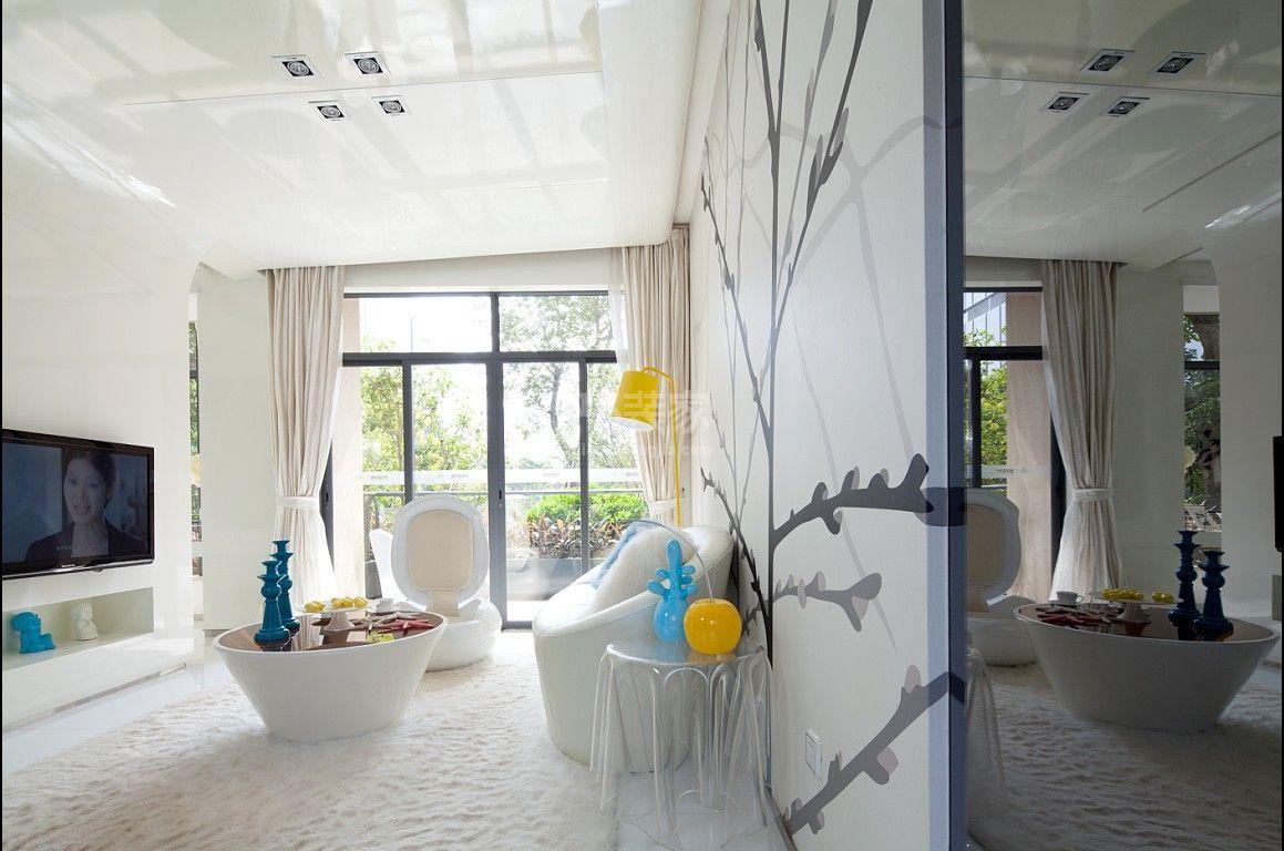 望京知语城50平米现代风格设计方案