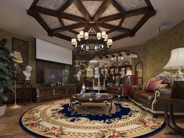 金领国际180平米美式风格设计方案