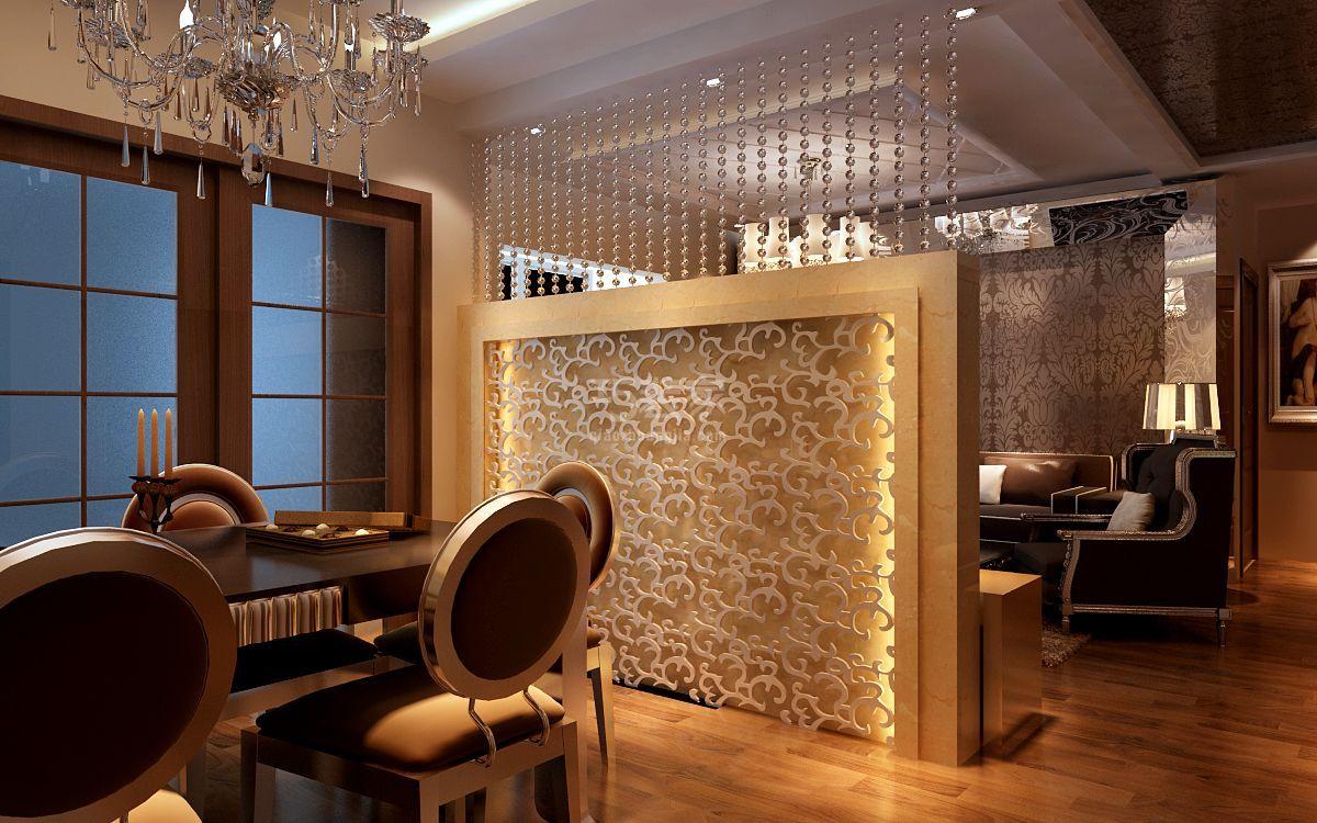 光华小区120平新古典风格设计方案