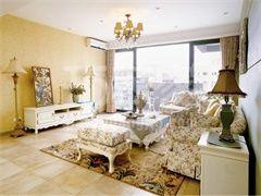 龙湖香醍125平美式风格设计方案