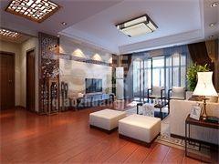 水岸东方160平新中式风格设计方案