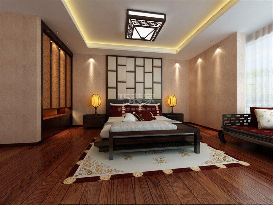 -枫叶新都市140平新中式风格设计方案