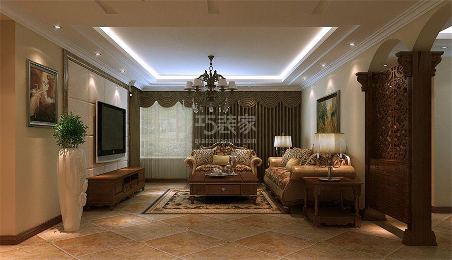 -曲江兰亭200平欧式风格设计方案