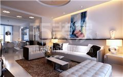 世家星城200平现代简约风格设计方案