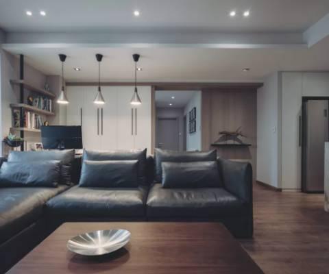 140小资设计,质感中不失优雅的家