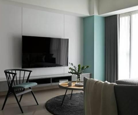 125平简约设计  客厅+书房我的最爱
