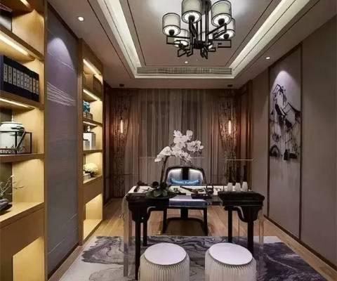 新中式:家具与色彩与细节的搭配