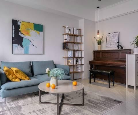 90㎡复式改造温馨北欧家居空间