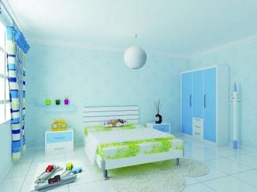 儿童房ballbet贝博网址硅藻泥色彩怎样搭配