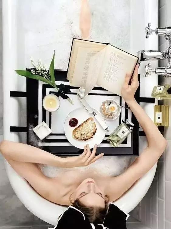 做一个爱生活的人,从浴缸开始!
