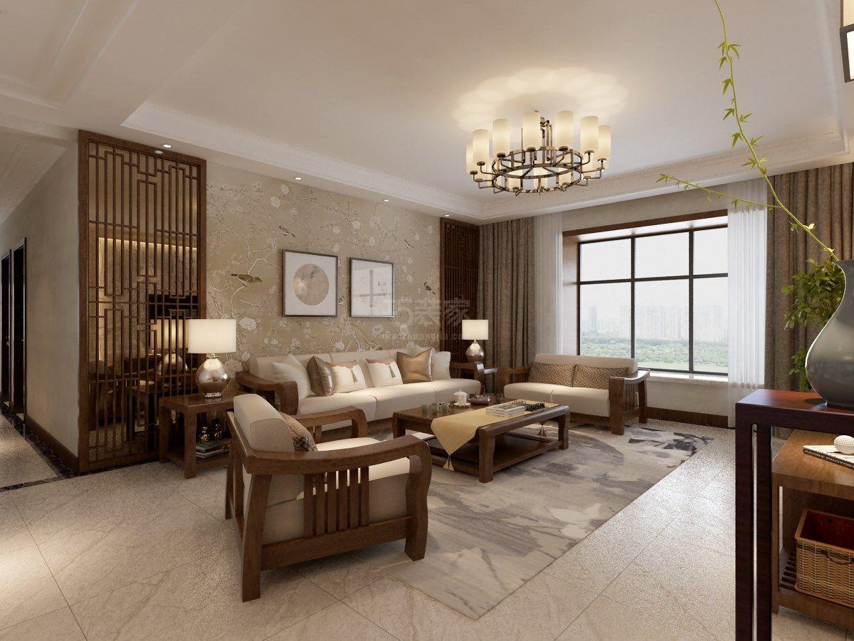 西安陕师大家属院180平ballbet贝博网址设计,中式风格尽显个人品质生活