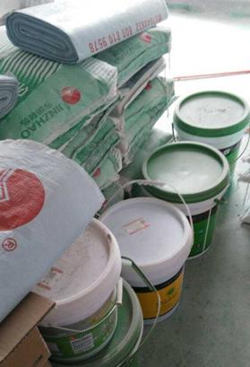 材料验收已经验收,成品保护按标准执行,工地干净整洁,材料按照公司施工要求已经放好区域。