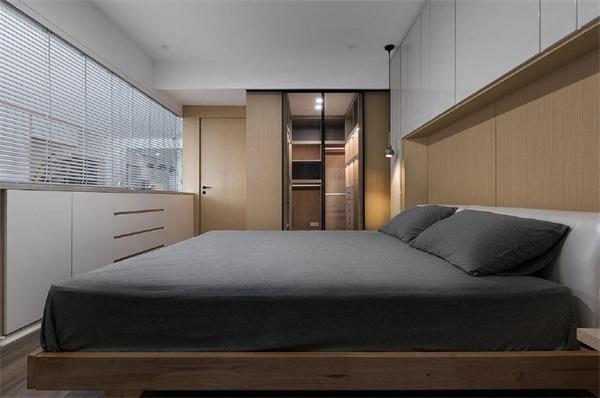 110㎡简约之家卧室效果图.jpg